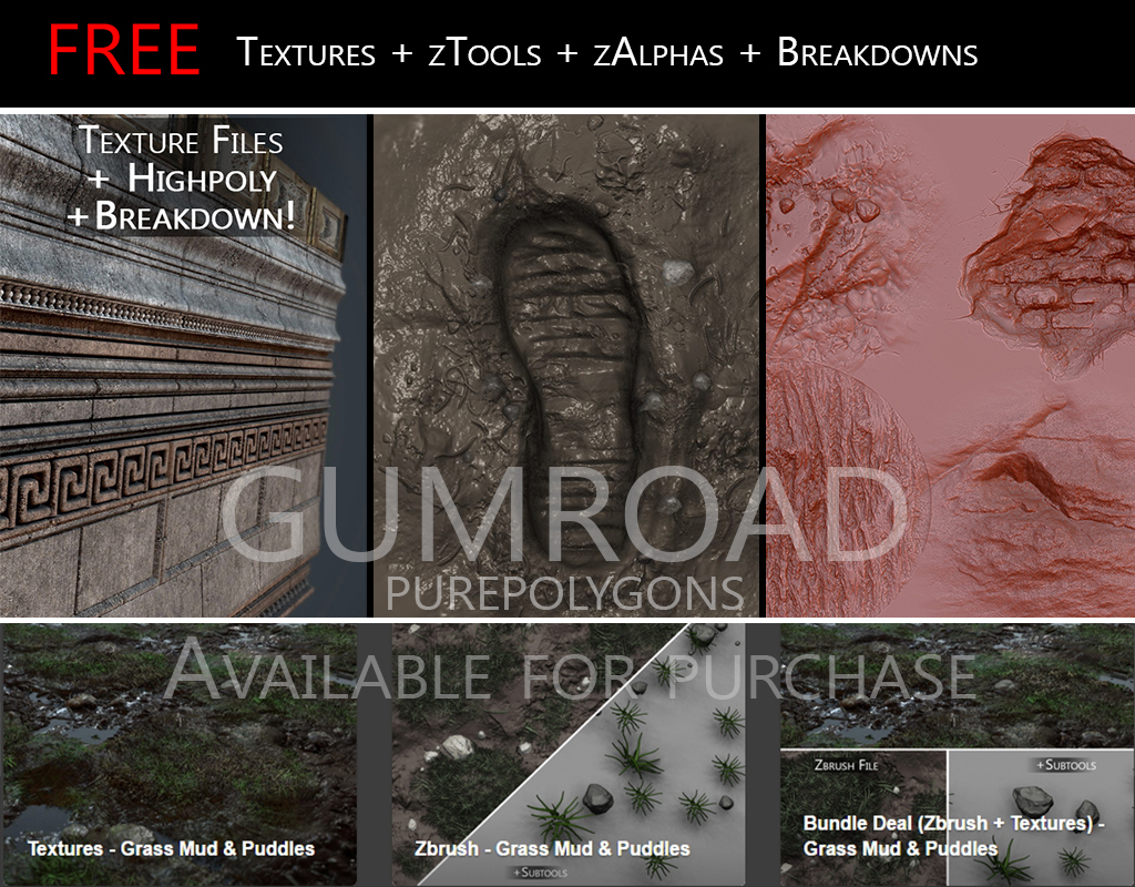 Gumroad - Free Goodies and More! by Jacob-3D on DeviantArt