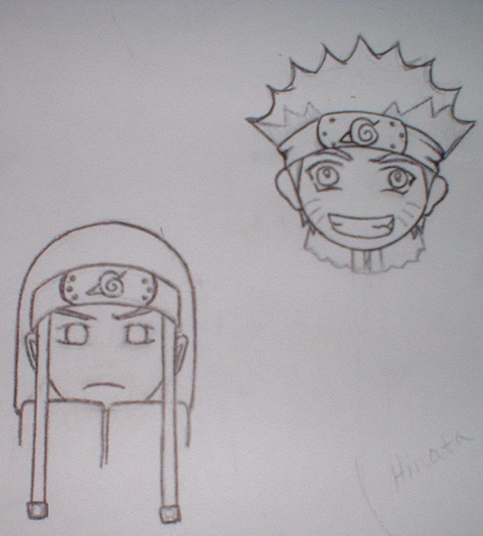 Naruto chibi luff-WIP by irish-eyes2
