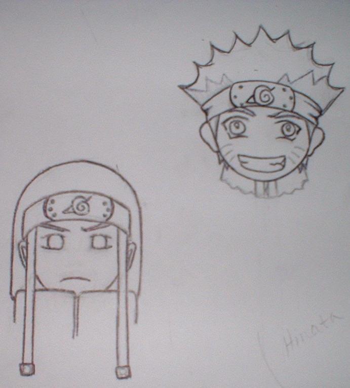 Naruto chibi luff-WIP by irish-eyes2