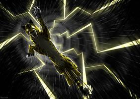 Frightening Lightning by Georgiavana