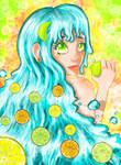 Citrus water_animegirl