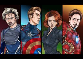 Avengers: Age of Ultron by Karolajzen