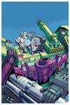 IDW Transformers: Galaxies Issue 03 Cover