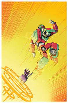 IDW Transformers: Galaxies Issue 32 Cover