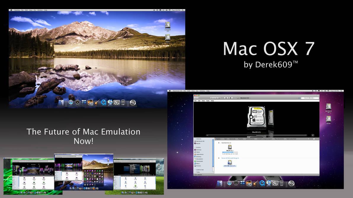 Mac OSX 7 v10 6 Update by Derek609 on DeviantArt