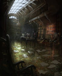Library by daRoz