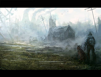 Postapocalyptic world by daRoz