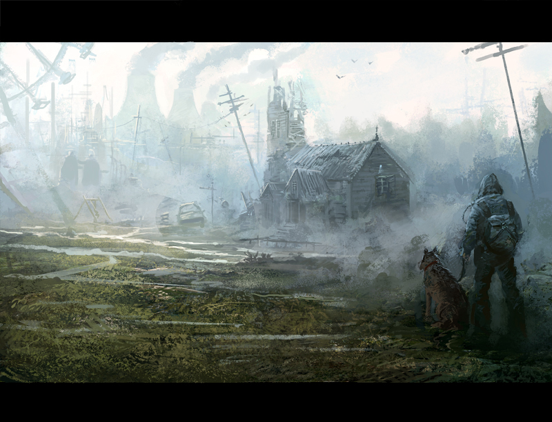 Postapocalyptic world by daRoz