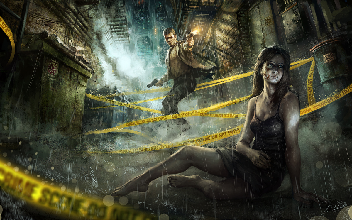 Ghost Victim by daRoz