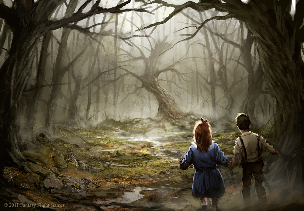 Into the woods by daRoz