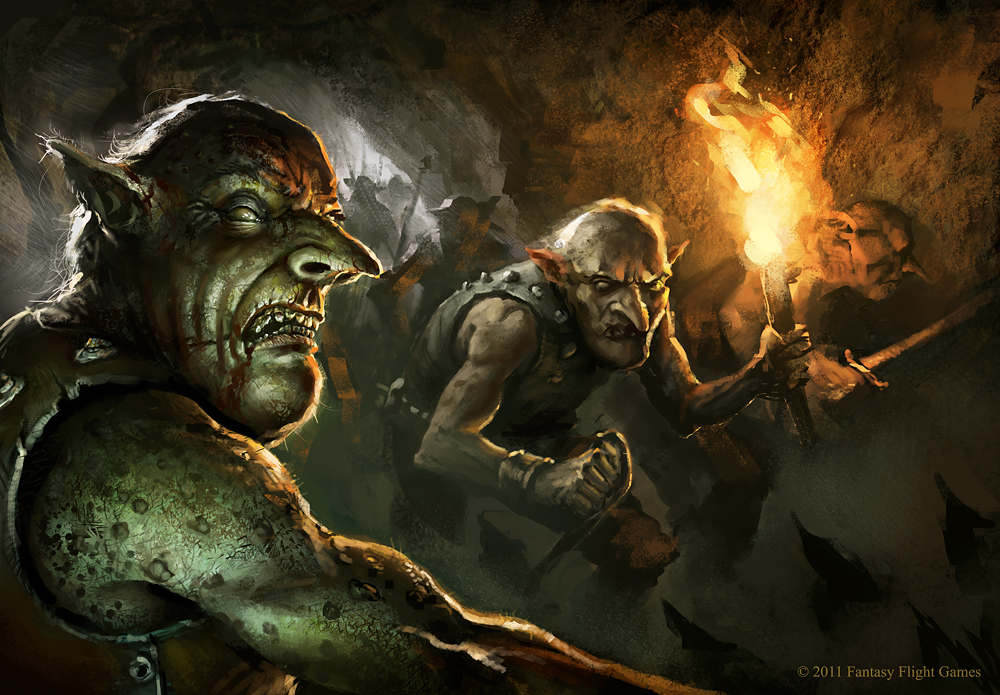 Goblins by daRoz