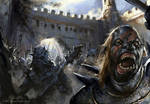 Orc Assault by daRoz