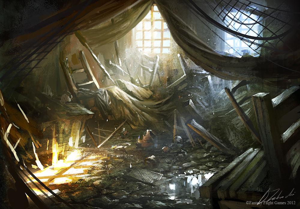 Damage Inside by daRoz