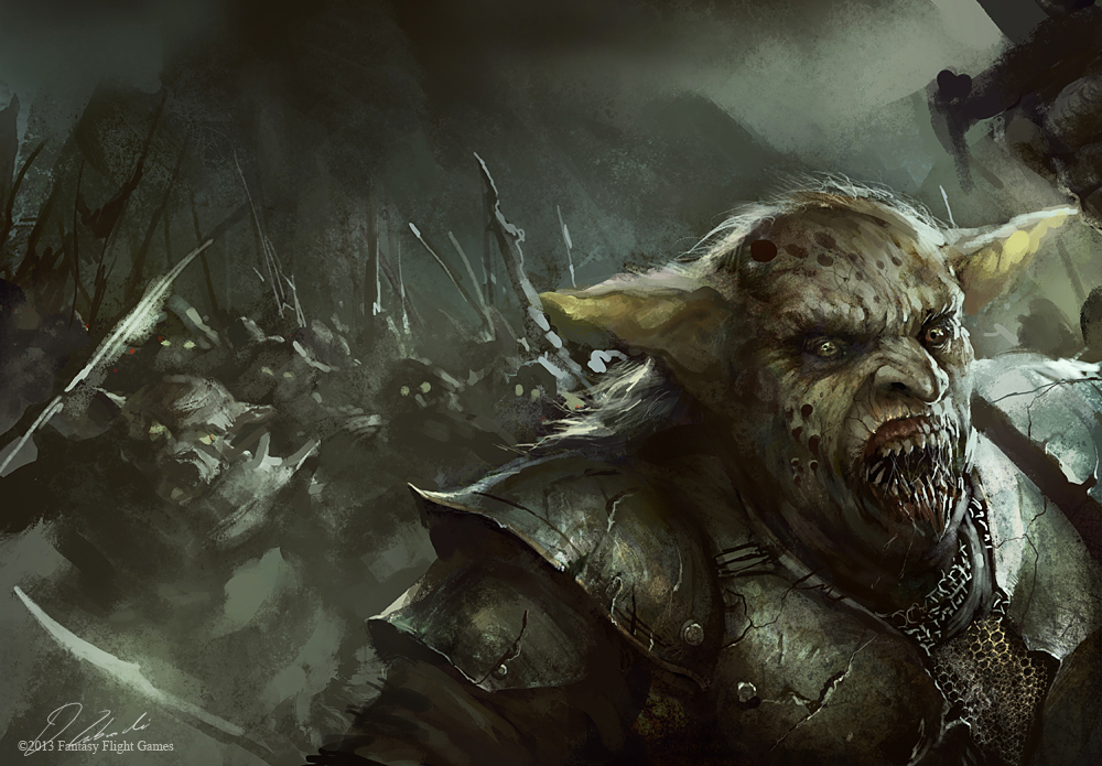Orcs After The War Of The Ring