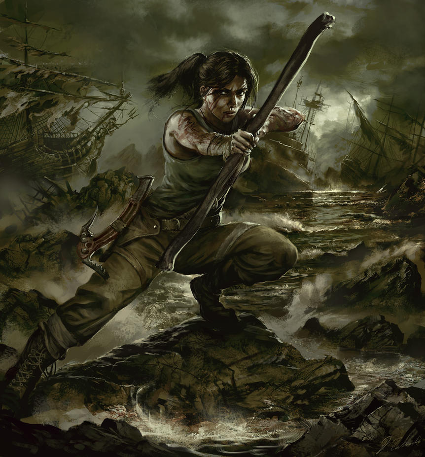 Tomb Raider 2013 Wallpaper: Tomb Raider-Survival By DaRoz On DeviantArt