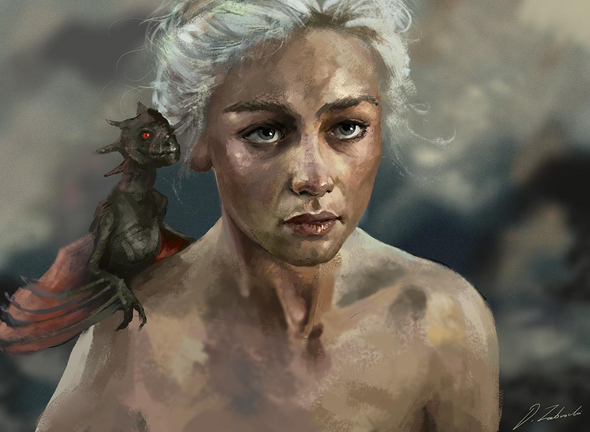 Daenerys by daRoz