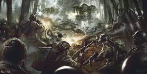 March of War Centerpiece Artwork