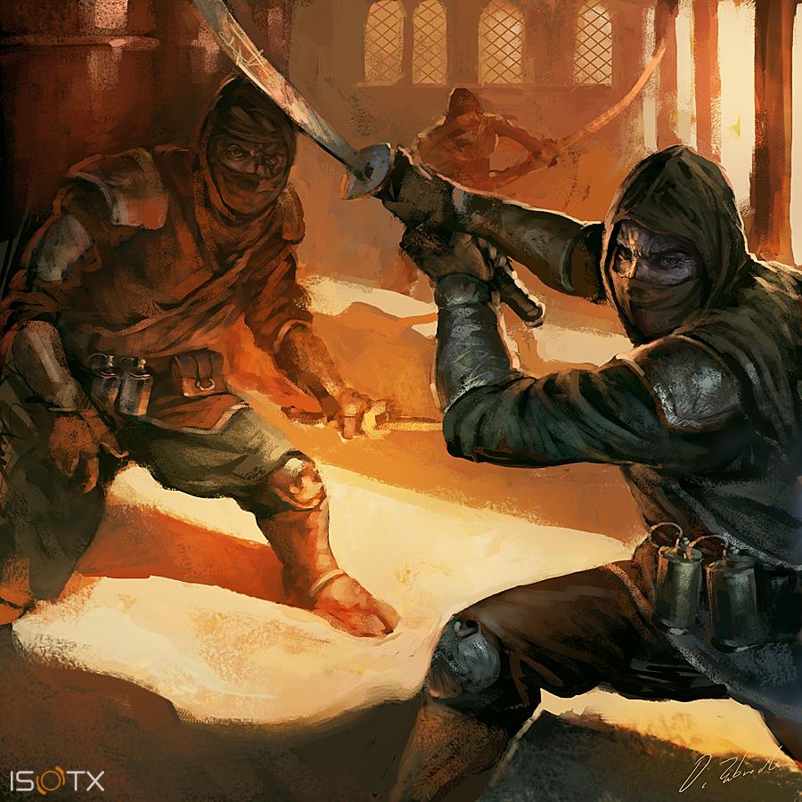 Ninjas by daRoz