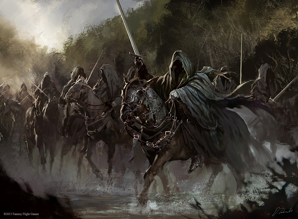 Black Riders by daRoz