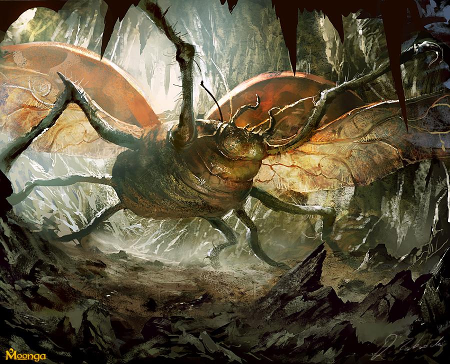 Giant Ladybug by daRoz