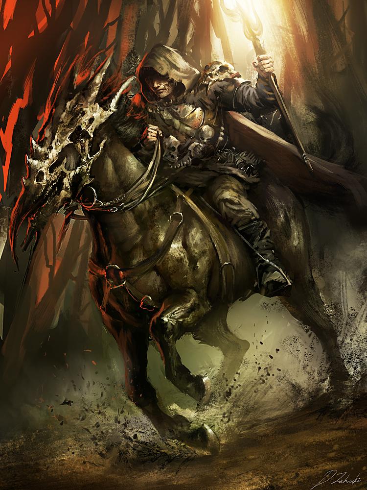 Druid Rider by daRoz