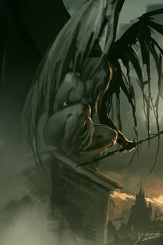 Dark Angel (30min Daily activity) by daRoz