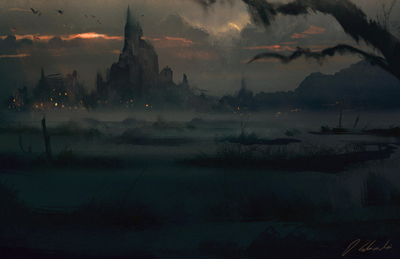 Marshlands by daRoz