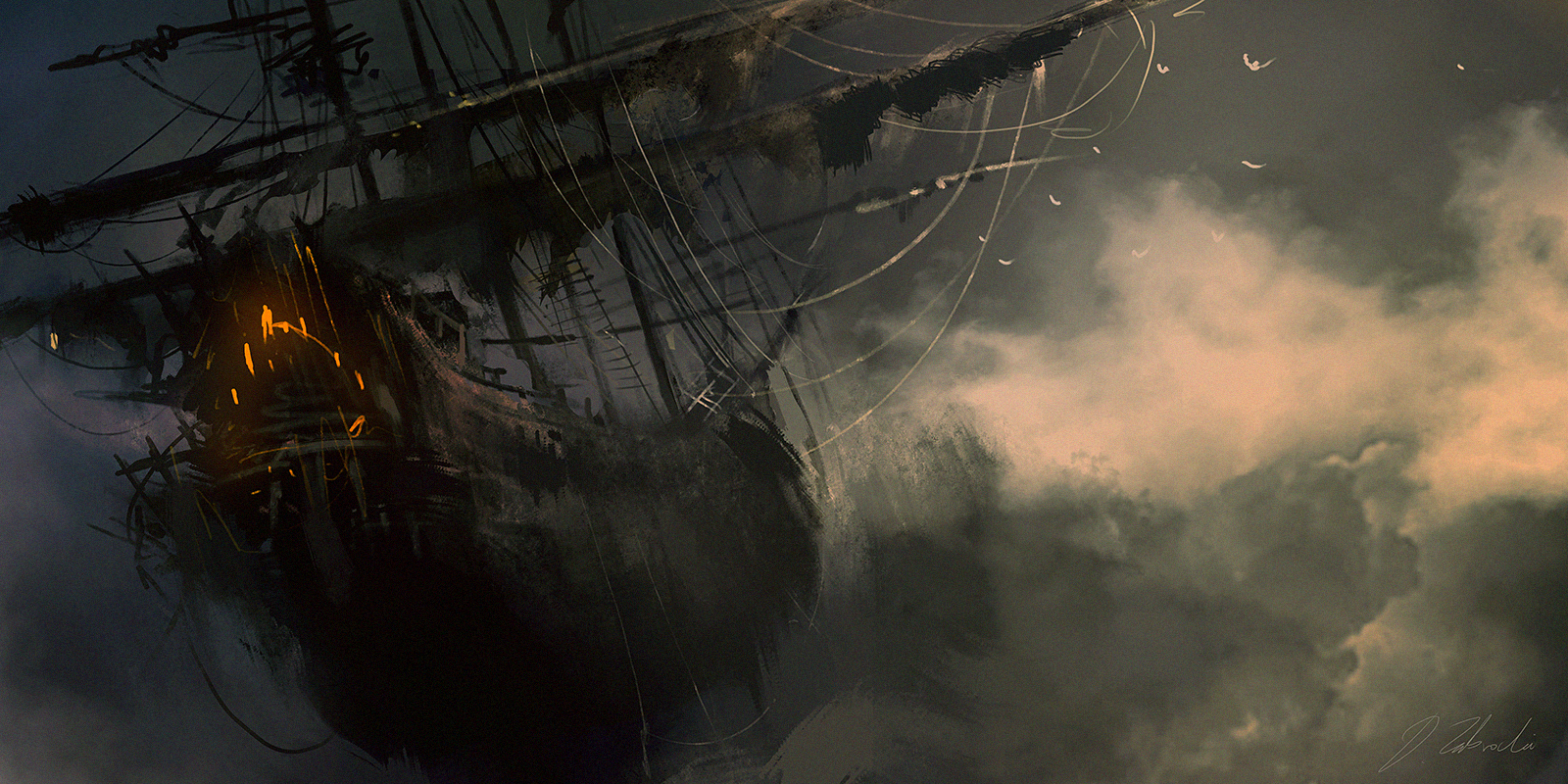 Flying Dutchman by daRoz