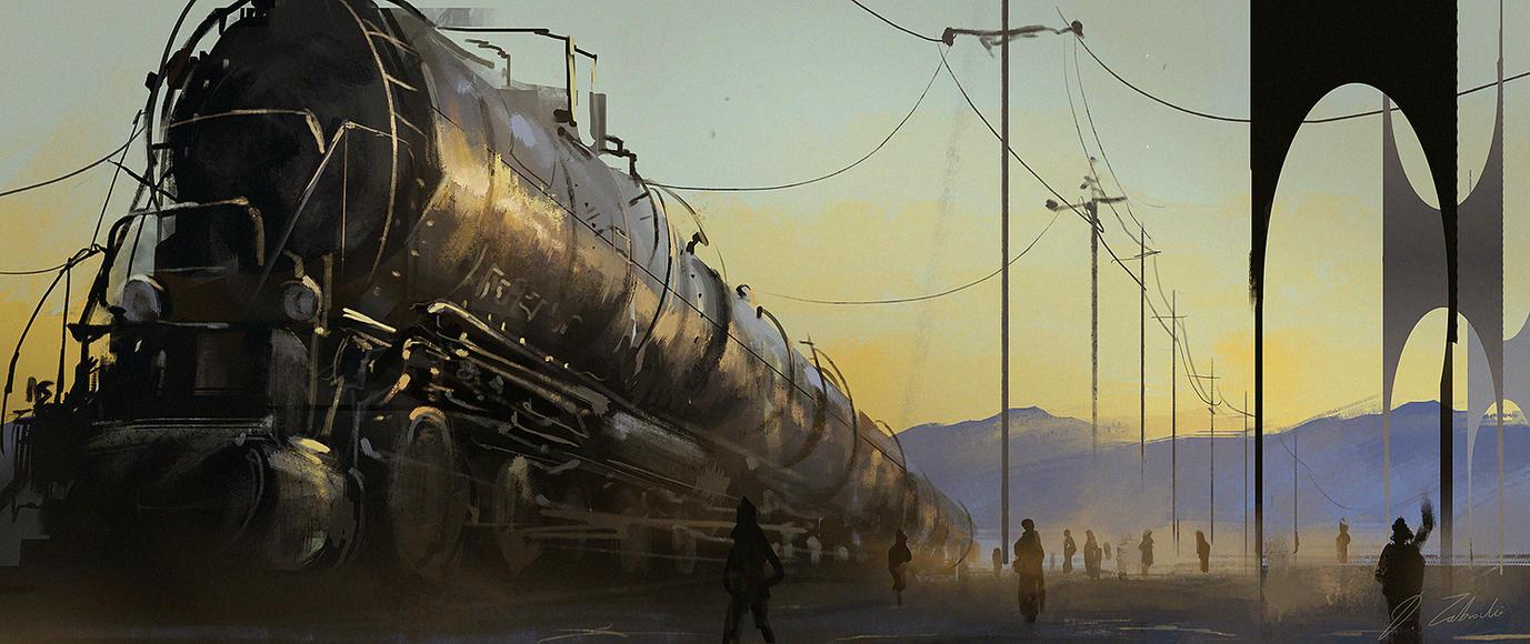 Big-train-2 by daRoz