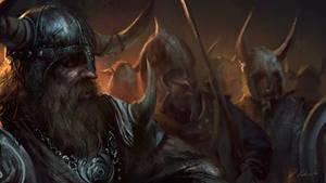 Vikings march