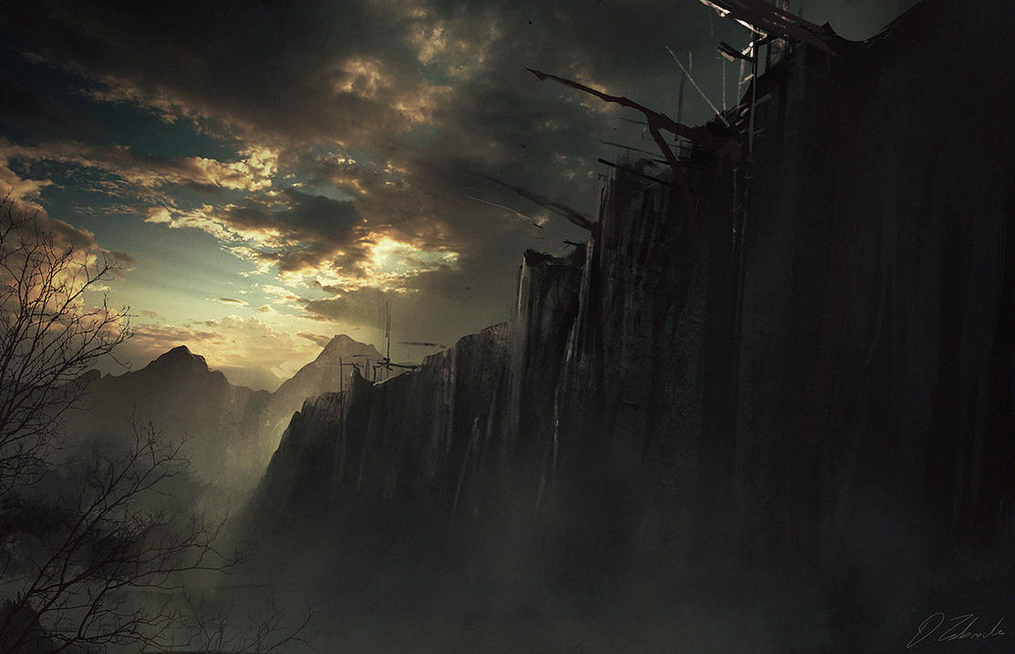 Game Of Thrones The Wall By DaRoz