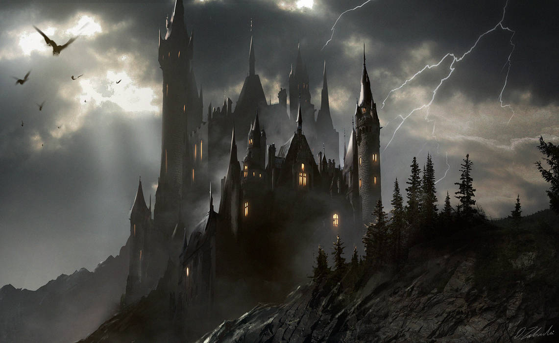 Transylvanian Castle by darekzabrocki