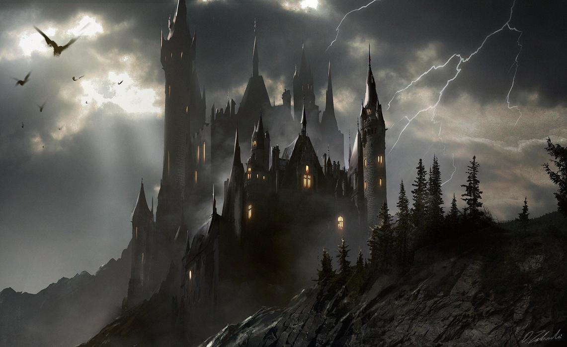 Transylvanian Castle by daRoz