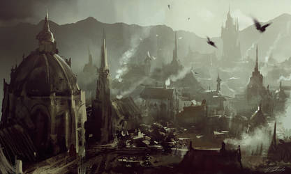 RPG Town by daRoz