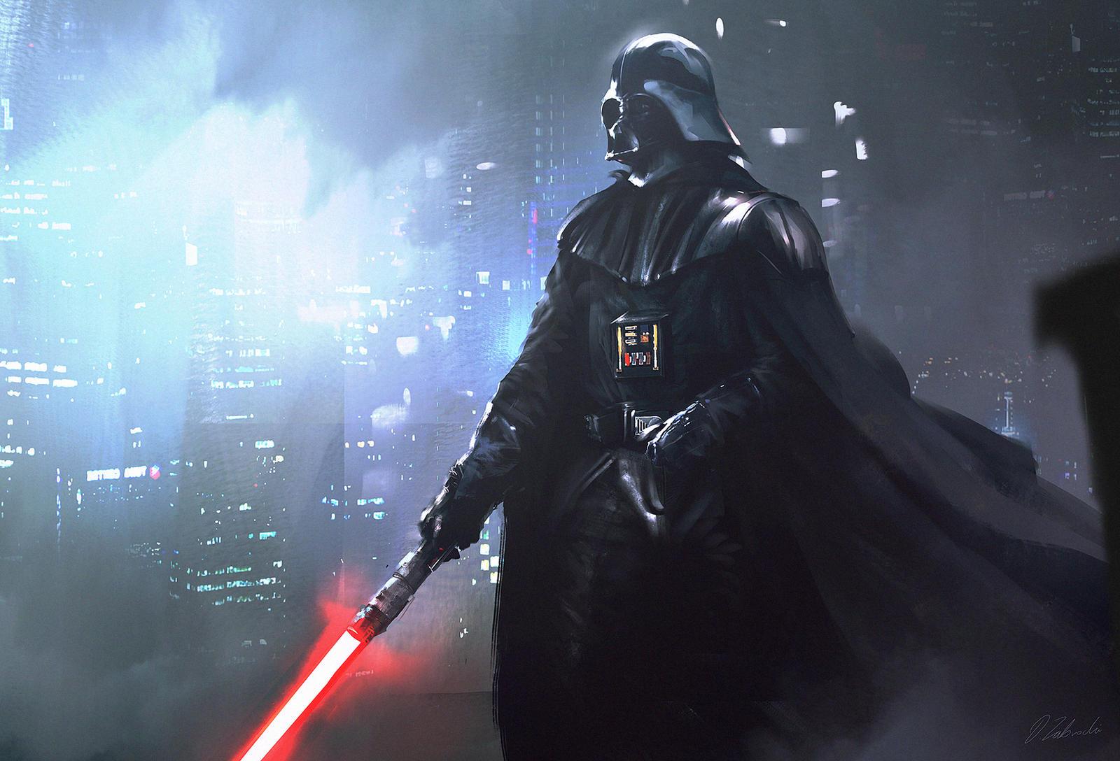 Darth Vader by daRoz