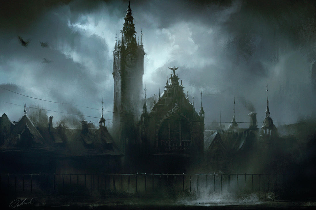 Gdansk central station by daRoz