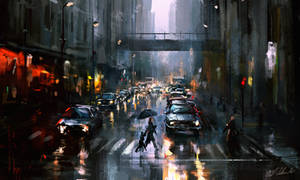 Rain down on me by daRoz