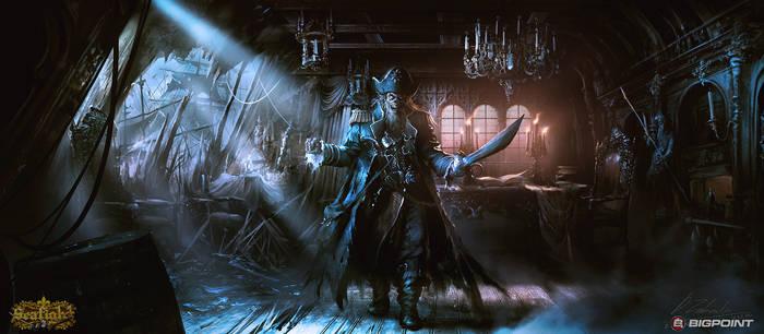 Captain's Cabin (Evil version) by daRoz