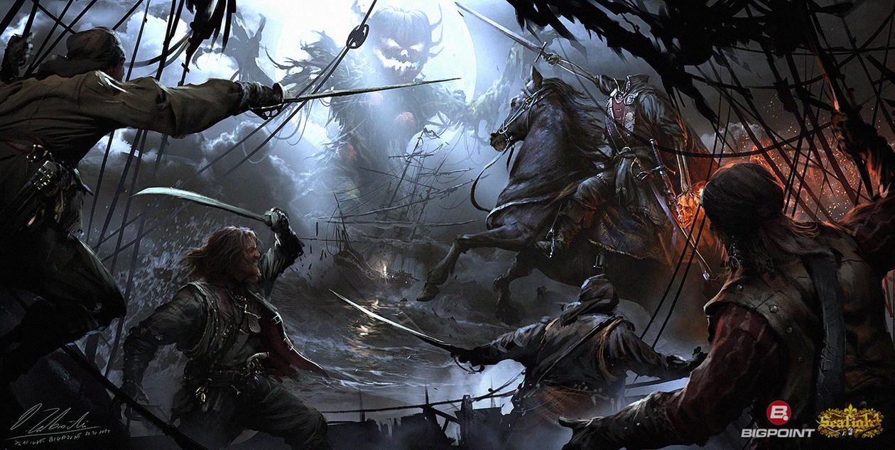 Horseman summoning by daRoz