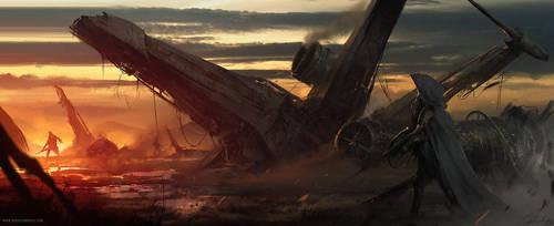 Crash Area by daRoz