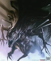 Alien Queen by daRoz
