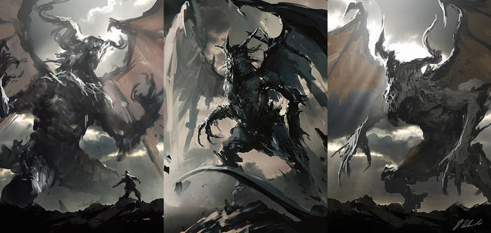 Beasts sketches