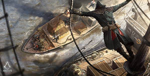 Assassin's Creed: Syndicate Boat Raid