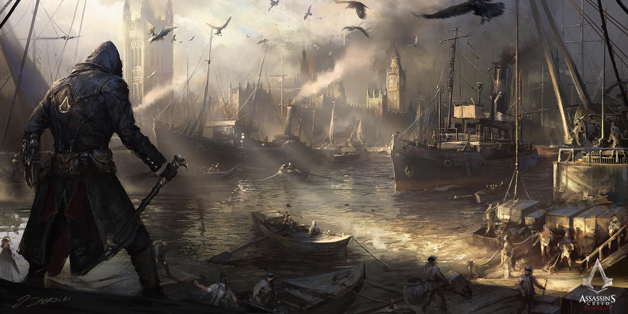 Assassin S Creed Syndicate Westminster River By Daroz On