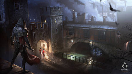 Assassin's Creed: Syndicate Evie and Traitor's Gat