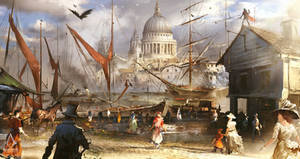 Assassin's Creed: Syndicate Industrial Revolution by daRoz