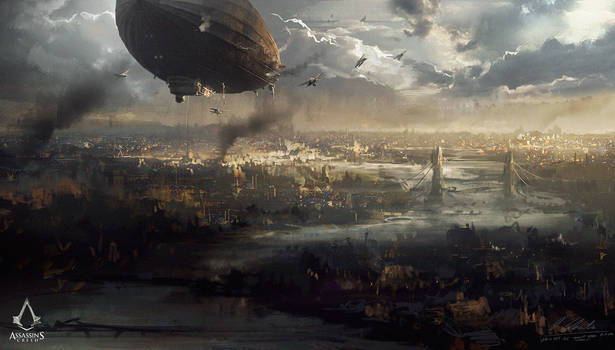 Assassin's Creed: Syndicate London cityscape
