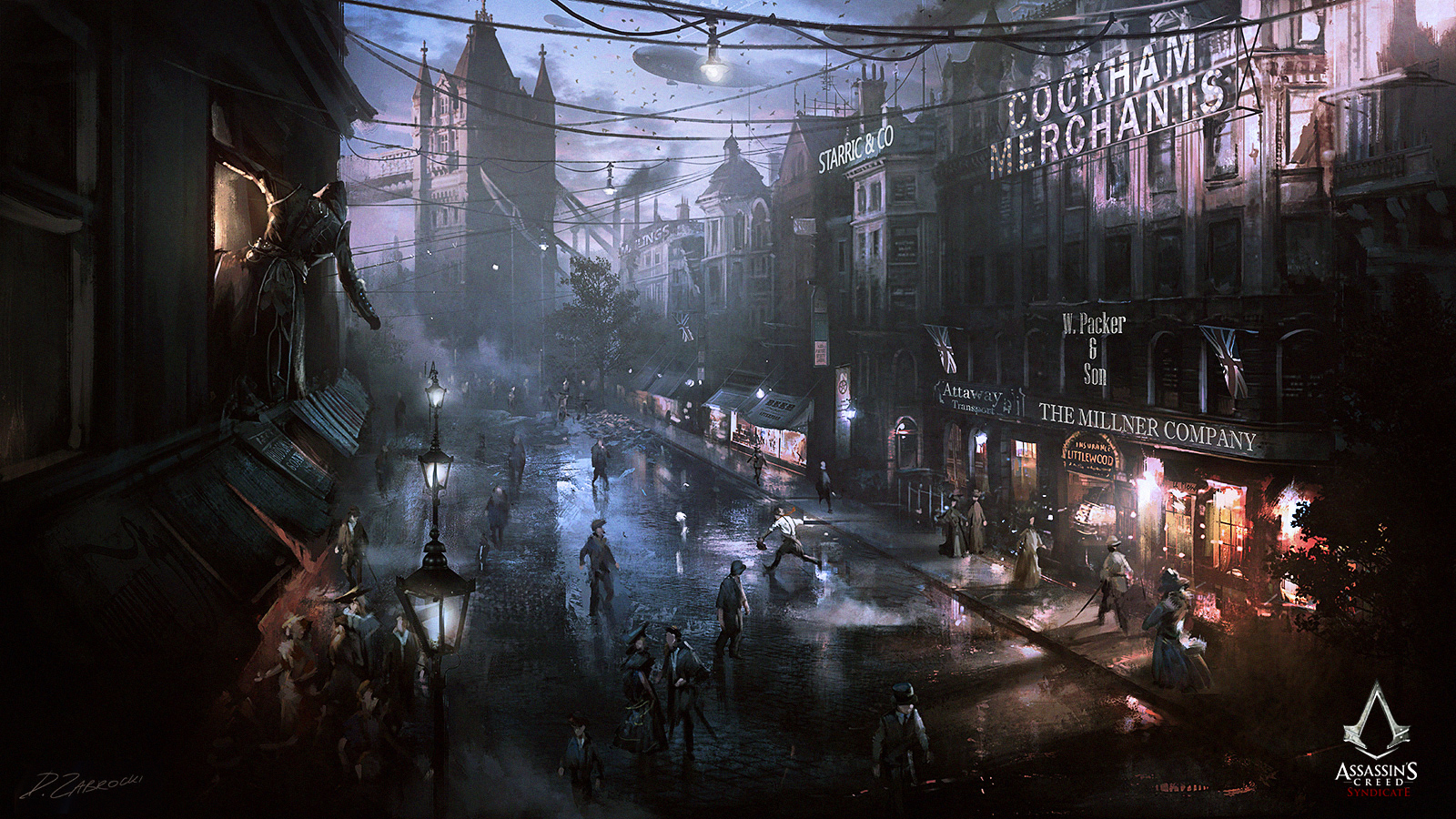 Assassin S Creed Syndicate Street View By Daroz On Deviantart