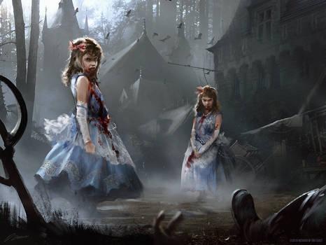 Magic: The Gathering Twins of Maurer Estate