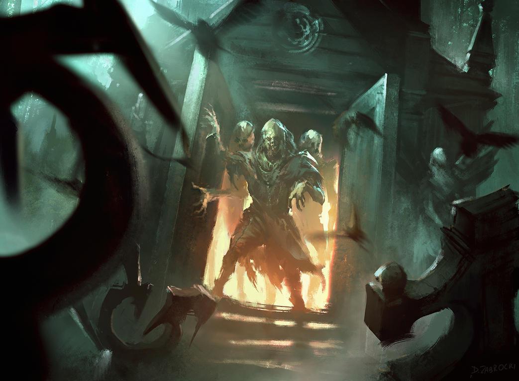 Magic: The Gathering Mausoleum Vanguard by daRoz